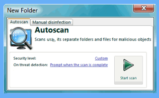 auto scan trancend usb