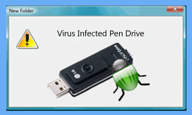virus infected lg usb
